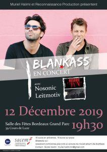Pop/Rock - Blankass - Nouvel album @ Salle des fêtes Bordeaux Grand Parc | Bordeaux | Nouvelle-Aquitaine | France