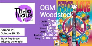 Woodstock 50 ans OGM @ THELONIOUS | Bordeaux | Nouvelle-Aquitaine | France