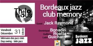 Bordeaux Jazz Club Memory @ THELONIOUS CAFE JAZZ CLUB   Bordeaux   Nouvelle-Aquitaine   France