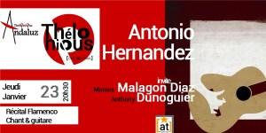 Récital Flamenco Antonio Hernandez @ THELONIOUS CAFE JAZZ CLUB | Bordeaux | Nouvelle-Aquitaine | France