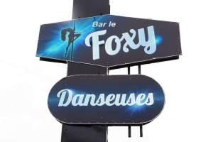 Bar le Foxy, danseuses nues, Roberval, SORTiRMTL