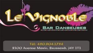 Le Vignoble, Danseuses nues