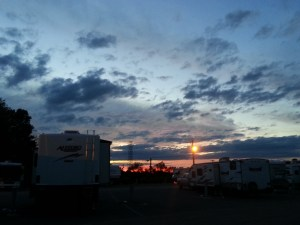 We did not lack beautiful skyscapes in Campbellsville!