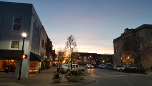 The downtown McKinney square
