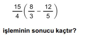 rasyonel sayılar online test