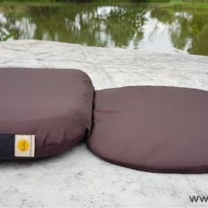 เบาะรองนั่งสมาธิ รุ่น Step-2M สีน้ำตาล ผ้ากันน้ำ กันไรฝุ่น
