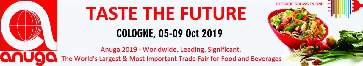 Anuga - Taste the future Cologne october 2019