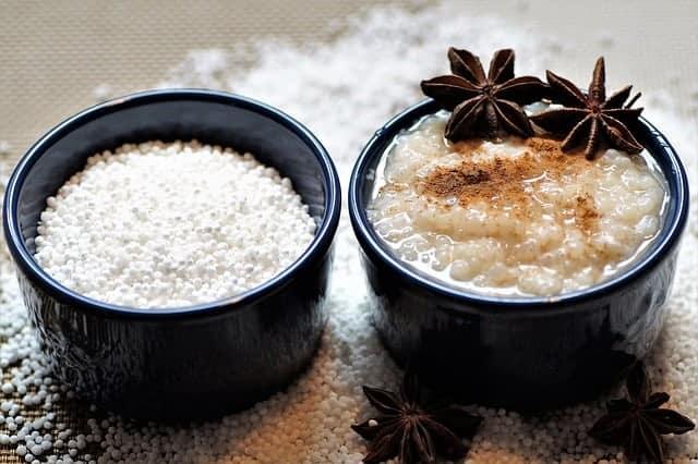 Tapiocapudding uten tilsatt sukker