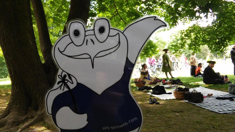 Wave Gotik Treffen im Clara-Zetkin-Park