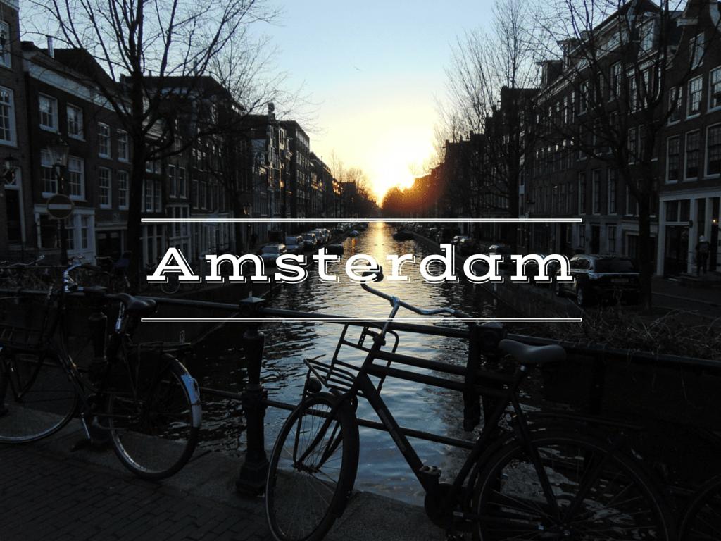Amsterdam, Hauptstadt der Niederlande