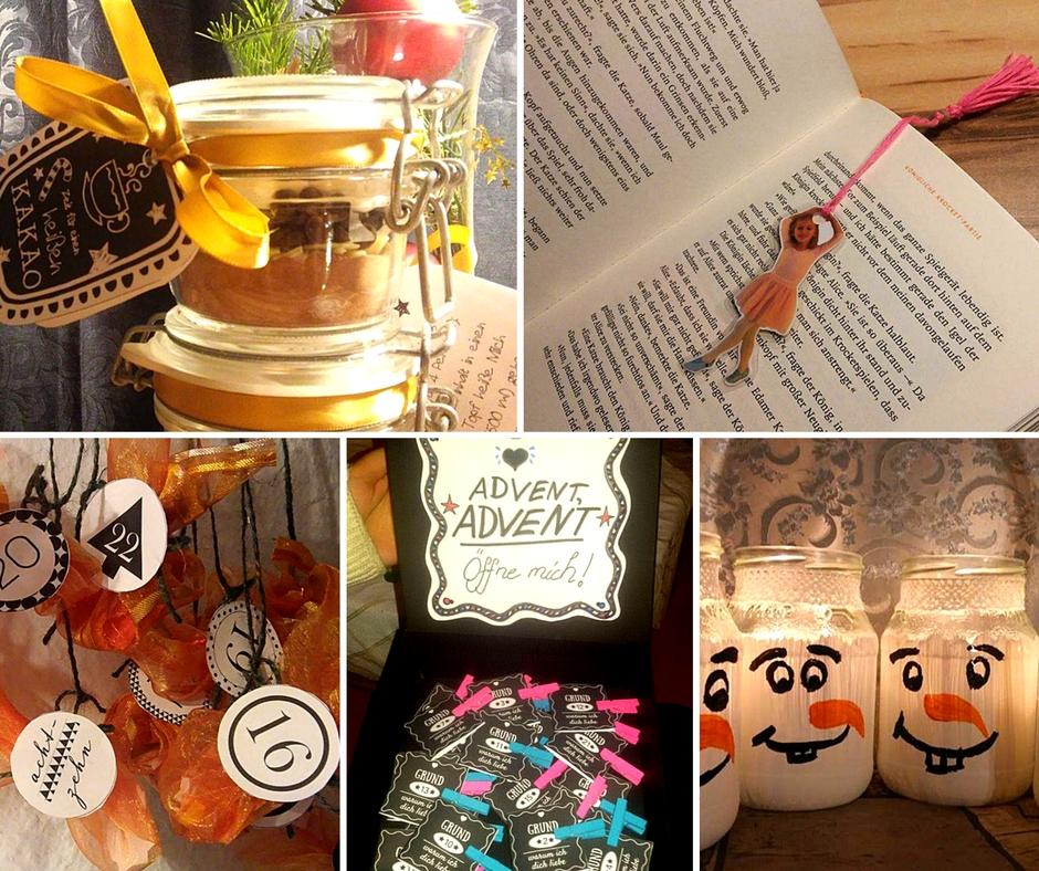 DIY Weihnachtsgeschenke basteln - von Bloggern inspiriert
