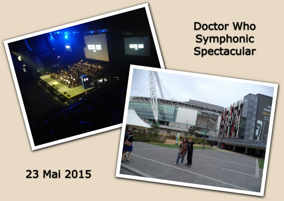 Beim Doctor Who Symphonic Spectacular in der Wembley Arena