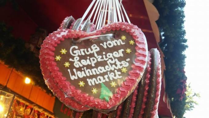 Grüße vom Leipziger Weihnachtsmarkt