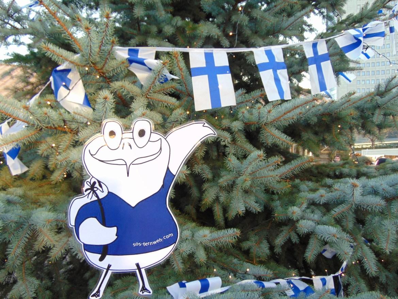 Das Finnische Weihnachtsdorf