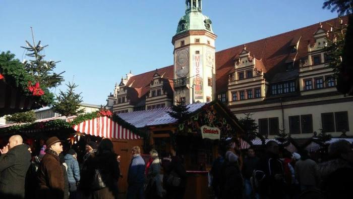 Weihnachtsmarkt in Leipzig 2016