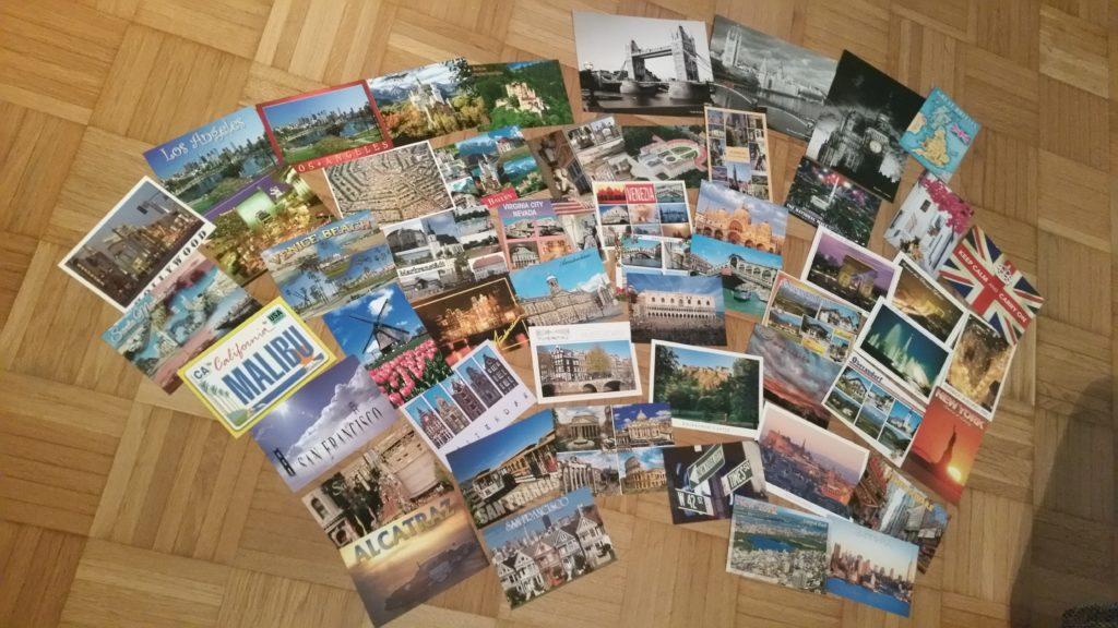 Postkarten als Souvenir aus dem Urlaub