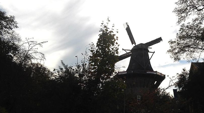 historische windmühle potsdam