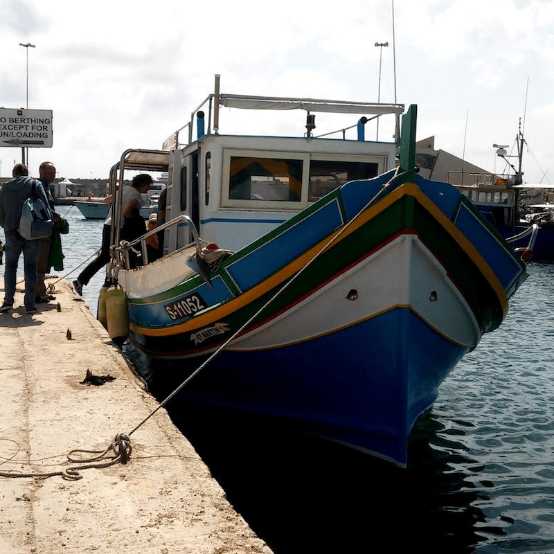 malta highlights gozo fischerboote