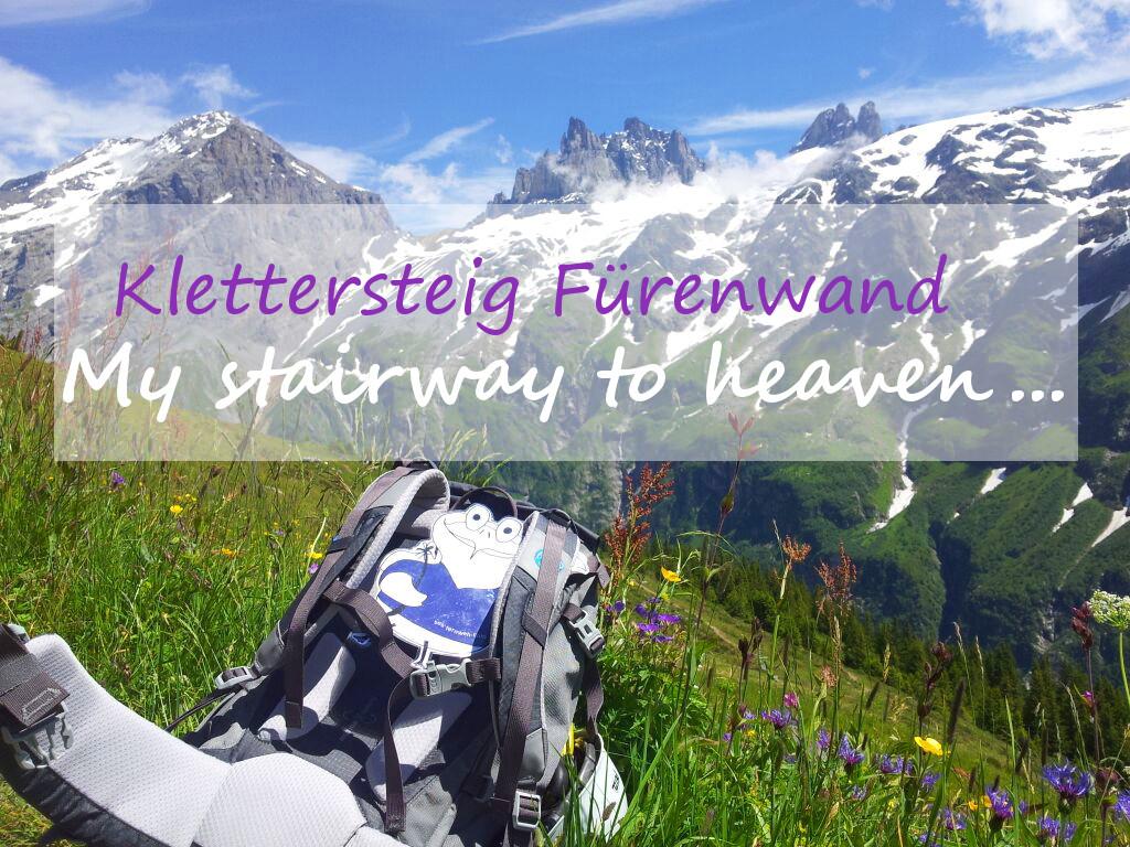 Klettersteig Fürenwand mit Oddy
