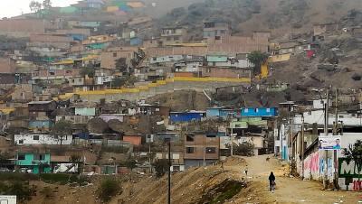 Bidonville favelas lima
