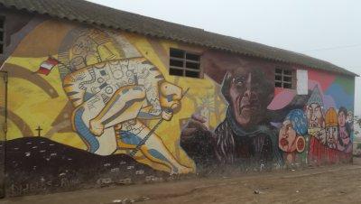 Volontaria ostéopathique dans les quartiés pauvres de Lima au Pérou