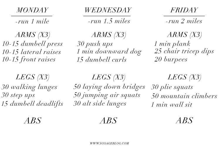 easy at home circuit workouts