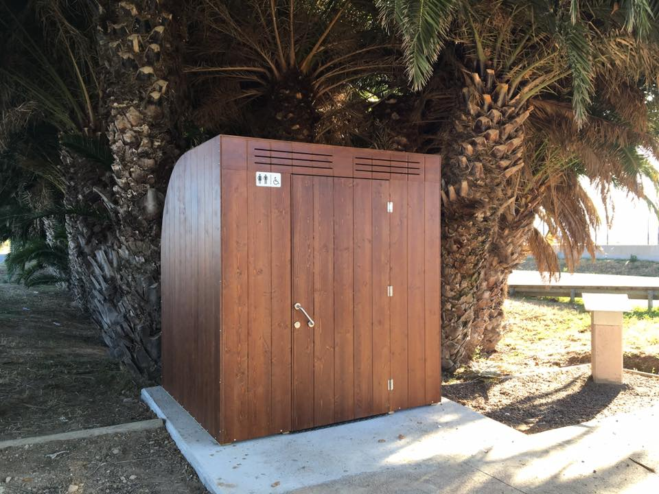 Baño portátil gama eco accesible sosanat