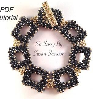 peanut bracelet So Sassy pdf tutorial