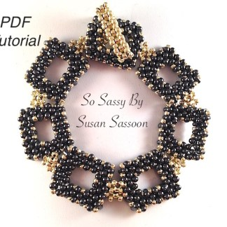 peanut bracelet So Sassy pdf tutorial
