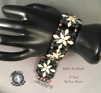 quilted kite bracelet