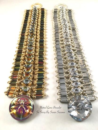 Netted Gems Bracelet