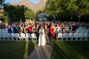SoSco performs for wedding at Reflections at the Buttes in Tucson