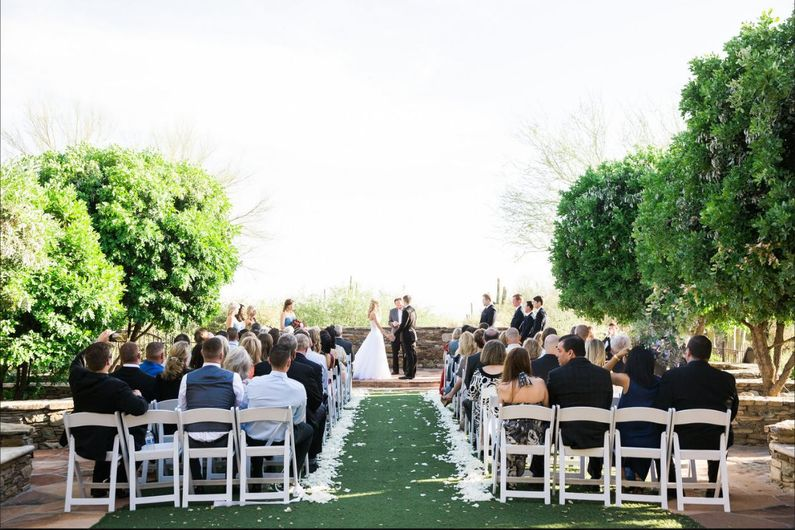 live music scottsdale outdoor wedding