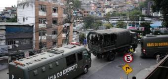 Militares assumem comando no Rio de Janeiro