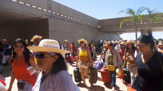 foto1_chegada no ManeGarrincha