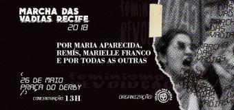 Marcha das vadias em Recife será este sábado (26)