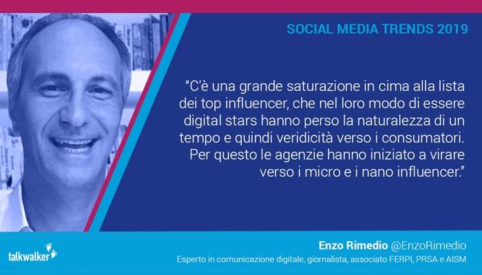 Enzo Rimedio - Micro e Nano Influencer