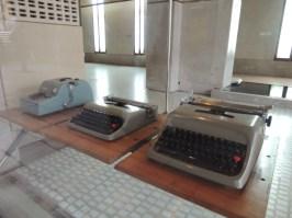 ¿Quién iría a pensar que las máquinas de escribir ahora son piezas de museo, en este caso, el de Olivetti?