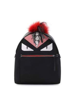 fendi-monster-fur-mohawk-backpack