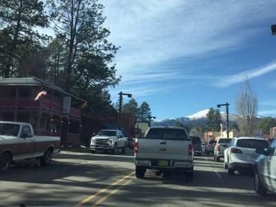 Muchos mexicanos llegan a este pueblo para esquiar.