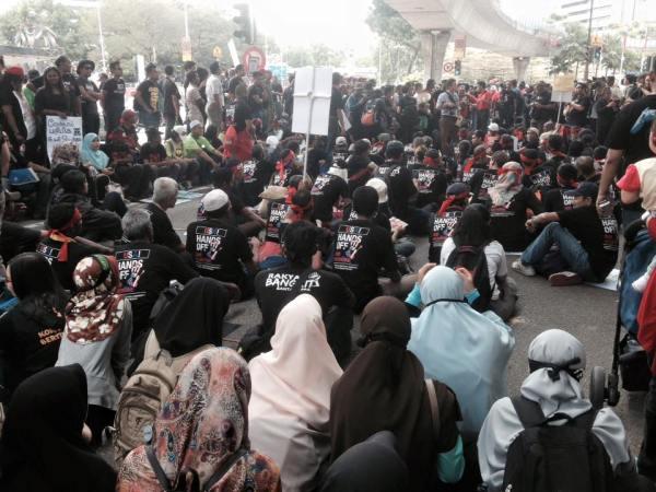 TPPA Protes