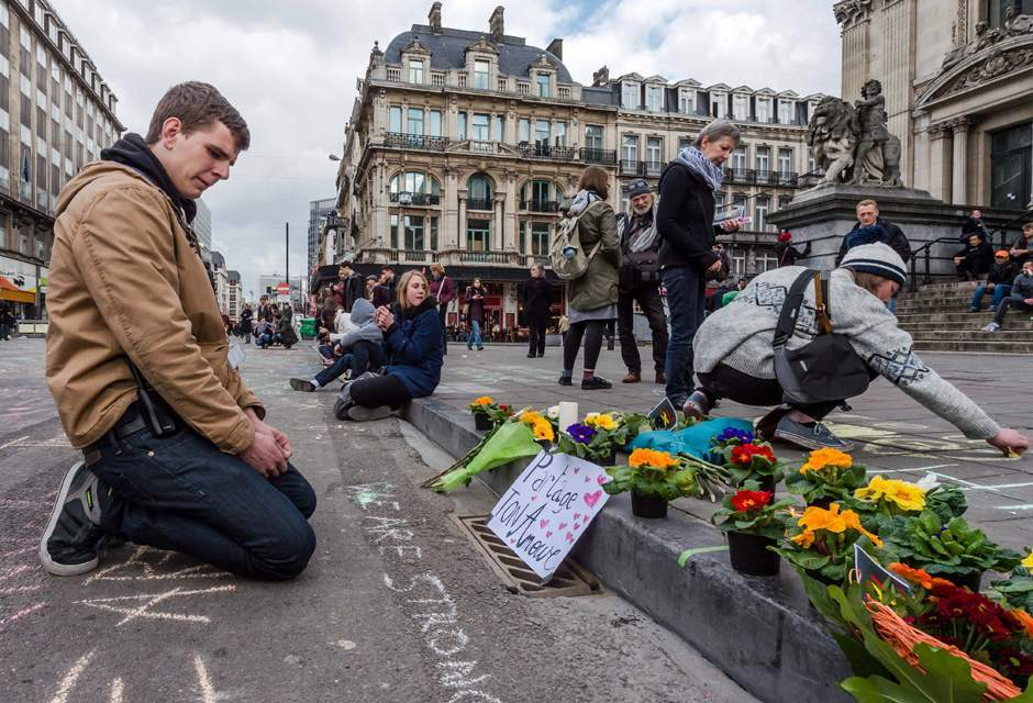 Pengeboman pengganas di Brussels