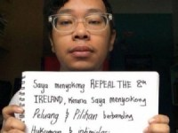 I support 'Repeal the 8th' for 'Opportunity' and 'Choice' against 'Intimidation' and 'Punishment'