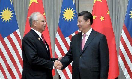 Malaysia tunduk kepada negara China?