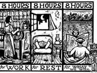 Peringatan Hari Pekerja dan 100 Tahun Revolusi Rusia