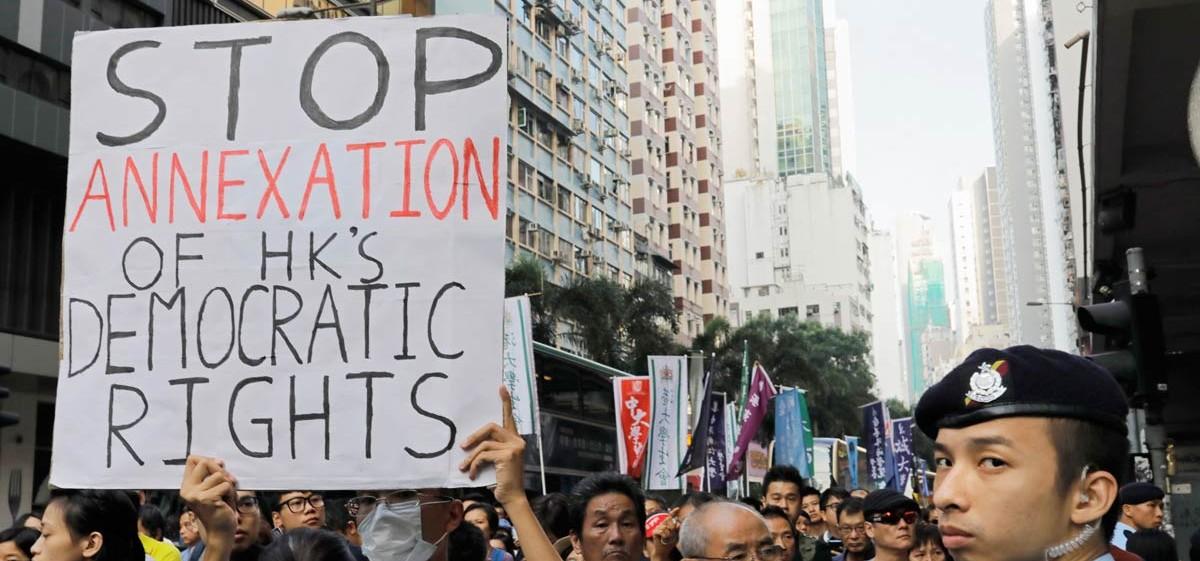 Solidariti Global: Hentikan penindasan di Hong Kong – Lepaskan tahanan politik!