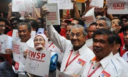 100 HARI PH : Warga Pekerja Mengundi PH, PH Mengutamakan Golongan Terkaya 1%!