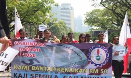 Bajet 2019 Mengecewakan Para Pekerja: Gaji Minimum RM1100 Tidak Boleh Diterima!