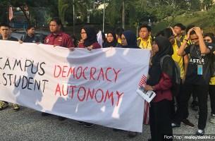 Mahasiswa/i Universiti Malaya Menentang Rasisme