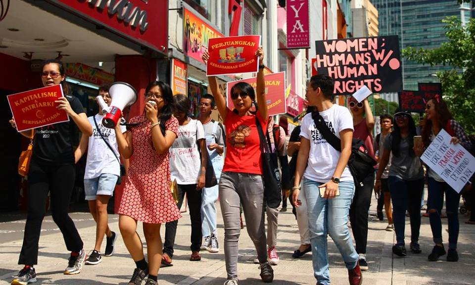 Hari Wanita Sedunia : Bina perjuangan kelas untuk mempertahankan hak rakyat tertindas!